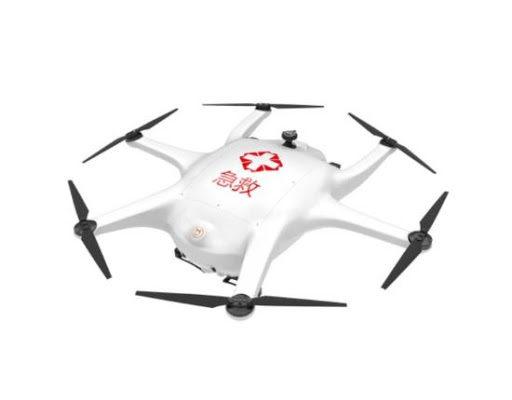 Drony w walce z koronawirusem