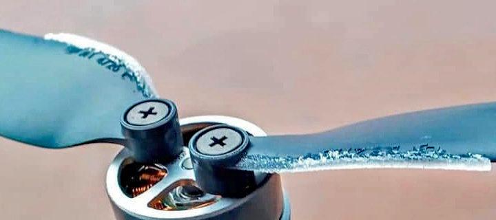 Oblodzenie, czyli dlaczego drony spadają?
